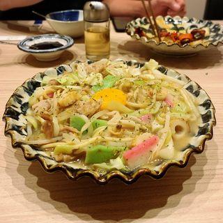 皿うどん(ふぐぶた酒場)