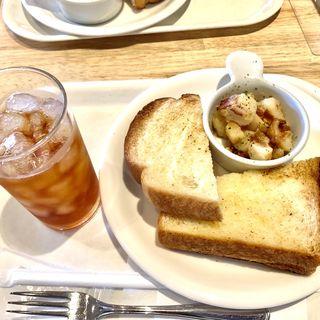 トーストセット( 燻しベーコン&ポテトのデリ)(ベックスコーヒーショップ 御徒町店)