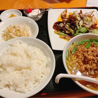 回鍋肉定食(久香亭 (きゅうかてい))