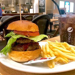オーロラダブルバーガー(AURORA Burger)