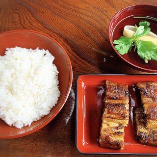 蒲焼定食(A定食)