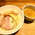 鶏白湯味玉つけ麺