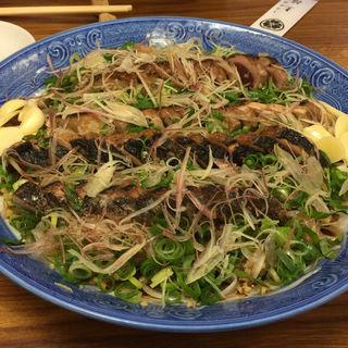 鰹のタタキ(郷土料理 土佐)