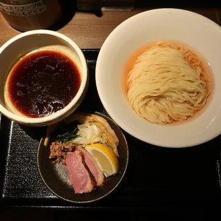 鴨出汁手揉み醤油つけ麺(鴨出汁中華蕎麦麺屋yoshiki)