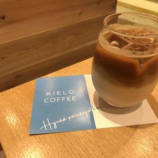 オーツミルクラテ(KIELO COFFEE)