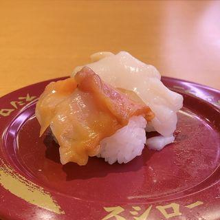 貝の食べ比べ(大つぶ貝、赤貝)