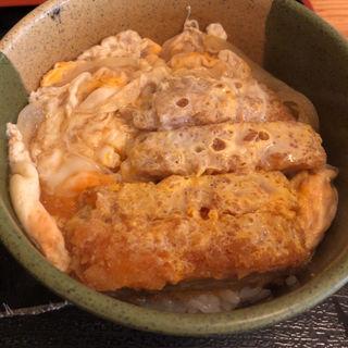 ミニかつ丼蕎麦