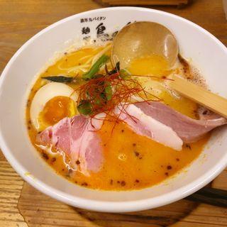 鶏次レッド(麺や 鳥の鶏次 )