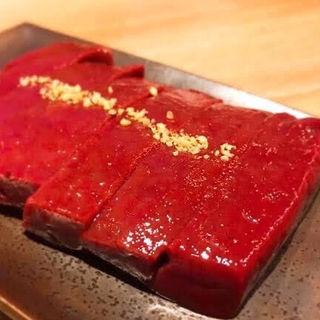 焼きレバー(ホルモンとく 中目黒)