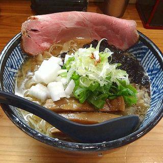 燕三条系らーめん(極麺 青二犀 (ゴクメン アオニサイ))