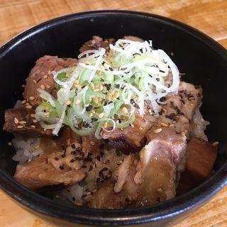 豚めし(ランチタイム価格)(麺屋いえろう)
