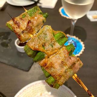 朝どれおくら巻(Grill & Vegetable aurLab.)