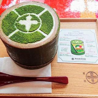 まるとパフェ抹茶(中村藤吉本店 銀座店)