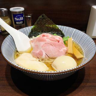 特製白醤油煮干しそば(寿製麺よしかわ 西台駅前店)