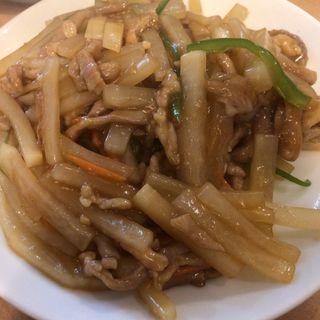 豚肉の細切りと大根炒め(慶賓樓 (慶賓楼 ケイヒンロウ))