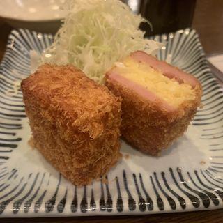 ハムカツコロッケ(分店 なかむら食堂 )