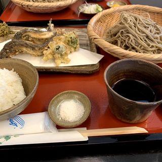 鮎天せいろ(おおひら (【旧店名】太平庵))