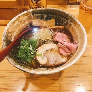 濃厚煮干しそば(煮干麺 新橋 月と鼈)
