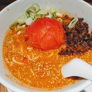 赤玉トマト担々麺(黒椿屋 )