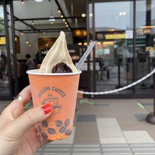 モカソフト(カップ)(ミカドコーヒー 軽井沢プリンスショッピングプラザ店 )