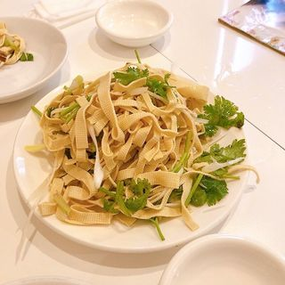 干し豆腐の冷菜(味坊)