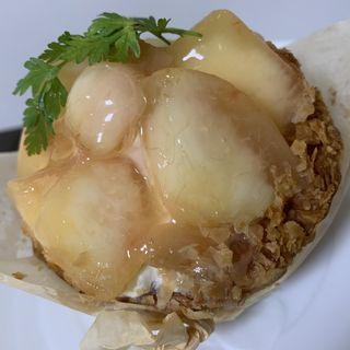 白桃のクリームパイ(es KOYAMA)