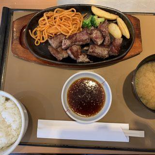 カットステーキ定食(やよい軒 茨木店 )