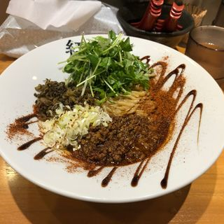 汁なし担担麺(担担麺紅麗)
