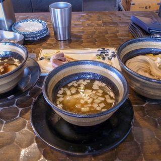 昆布水塩醤油つけ蕎麦(特級鶏蕎麦 龍介 )