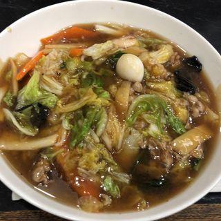 中華丼 大盛り(中国料理 登龍 )