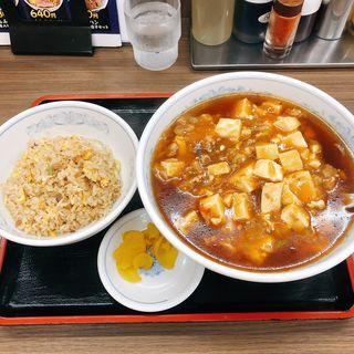 マーボーラーメンBセット(福しん バス通り店 )