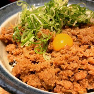 そぼろ丼ランチセット(川北商店)