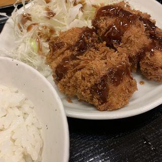 ヒレカツ定食(とんかつ まるや 青山店 )