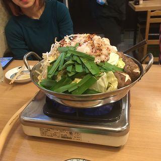 モツ鍋(みょうが屋 )