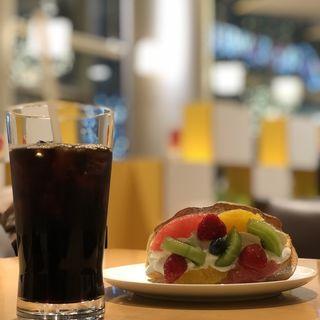 オムパフェセット(洋菓子 きのとや 大通公園店)