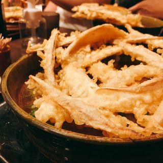 肉ごぼう天(大地のうどん 東京馬場店)