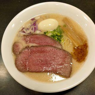 特製濃厚塩牛そば(麺牛 ひろせ)