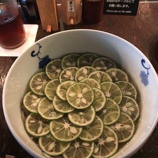 すだち蕎麦(松玄 恵比寿店 (まつげん))