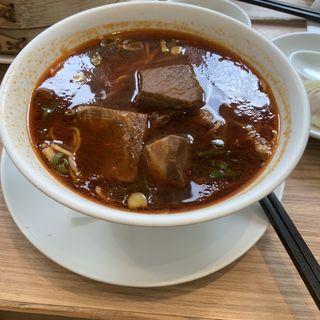 牛肉の煮込み麺(鼎泰豐 新宿店 (ディンタイフォン))