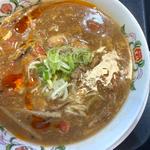 酸辣湯麺(餃子の王将 南二条西2丁目店)