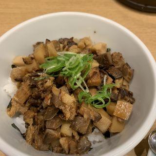 チャーシューメンマ丼(うまい麺には福来たる 西中島店)
