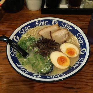 煮卵ラーメン(shin shin)