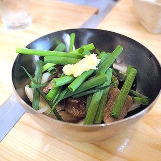 牛すじポン酢(わらぶきや )
