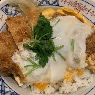 カツ丼(とんかつ まるや 竹橋店)