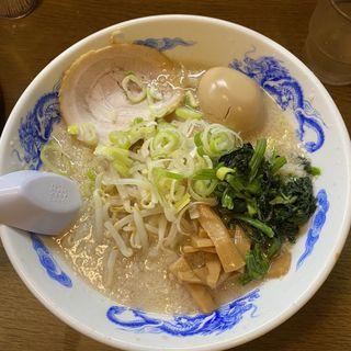 背脂醤油    味玉らーめん(麺屋亥龍 (いりゅう))
