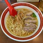 鶏チャーシュー麺