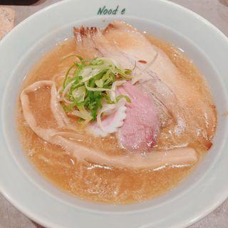鶏と鴨の樽熟成しょうゆラーメン(Nood e)