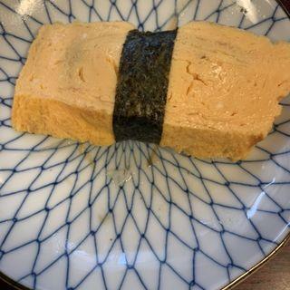 厚焼き玉子(十三 すし屋台 (すしやたい))