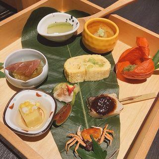 肉寿司御膳(肉割烹 まさき)