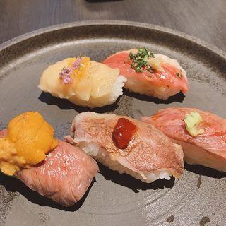 肉寿司御膳